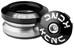 KCNC Omega-S2 - Jeu de direction intégré - noir